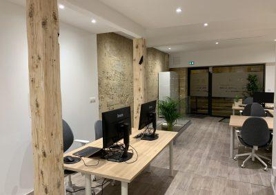 Bureaux lumineux - coworking Bordeaux